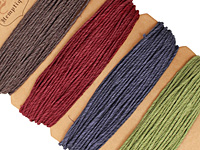 Earthy Pastel Hemp Twine 20 lb, 29.8 ft x 4 colors