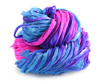 Lupine Silk Chiffon Ribbon Yarn