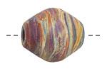 Unicorne Beads Canyon Barrel Bead 25x22mm