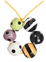 Jangles Ceramic Halloween Bead Set 12-15mm