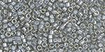 TOHO Aiko Ceylon Smoke Precision Cylinder 11/0 Seed Bead