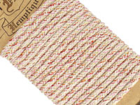 Bright Lights Hemp Braided Rope 4mm, 3m