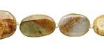 Burma Jade Flat Oval 10-18x9-13mm