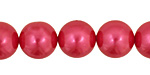 Dragonfruit Shell Pearl Round 14mm