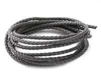 Concrete Faux Leather Bolo Cord 3mm