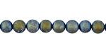 Metallic Waters Luster (matte) Druzy Round 6mm