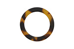 Zola Elements Tortoise Shell Matte Acetate Ring 24mm
