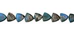 Turquoise Impression Jasper Triangle 7mm