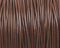 Chocolate Round Leather Cord 1.5mm