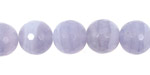 Blue Lace Agate Faceted Round 12mm