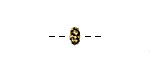 Greek Antique Gold (plated) Bali Style Spacer 6mm