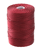 C-Lon Red (.5mm) Bead Cord