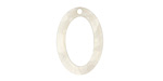 Zola Elements Pearl Acetate Oval Ring 15x22mm