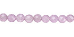 Lavender Colorful Jade Faceted Round 6mm