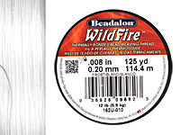"WildFire Frost .008"" Thread, 125 yards"