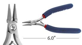Tronex Short No Step Flat Nose Pliers (ergonomic handle length)