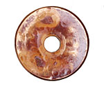 Patricia Healey Copper Textured Small Washer 6x37mm