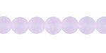 Periwinkle Recycled Glass Round 8mm
