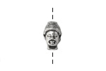 Antique Silver (plated) Buddha Head 8.5x13mm