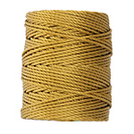 C-Lon Antique Gold Tex 400 (1mm) Bead Cord