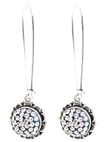 Nunn Design Antique Silver (plated) Ornate Earrings Kit