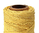 Yellow Hemp Twine 20 lb, 205 ft