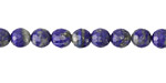 Lapis Faceted Round 5.5-6mm