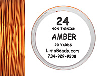 Parawire Amber 24 Gauge, 20 Yards