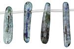 Kyanite Flat Drop 6-9x16-34mm