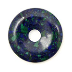 Azurite Malachite Donut 40mm