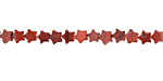 Red Jasper Star 4mm