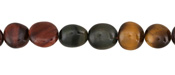 Tiger Eye (multi) Tumbled Nugget 8-11x9-10mm