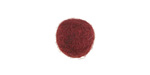 Mulberry Wine Felt Round 15mm