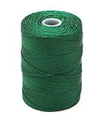 C-Lon Green Fine Weight (.4mm) Bead Cord