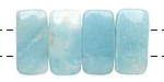 Amazonite (A) 2-Hole Rounded Rectangle 10x20mm