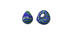 Unicorne Beads Planet Earth Teardrop 9-10x9-10mm