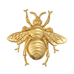 Brass Bumble Bee 41x39mm