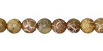 Soochow Jade Carved Swirls Round 6-7mm
