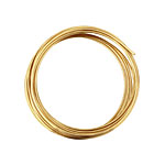 Artistic Wire Tarnish Resistant Brass 16 gauge, 10 feet