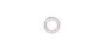 TierraCast Silver (plated) Round Jump Ring 7.5mm, 16 gauge