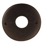 Ebony Wood Donut 45mm