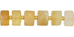 Citrine Wheel 6-9x10-12mm