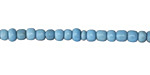 African Trade Beads Turquoise Glass 3-5x3-5mm