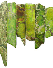 Apple Green Impression Jasper Graduated Stick 8-10x12-54mm