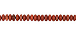 Red Bend Jasper Rondelle 4.5mm