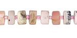 Pink Opal (matte) Wheel 5-8x10-13mm
