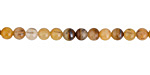 Golden Wooden Jasper Round 4mm