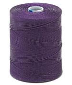 C-Lon Purple Micro (.12mm) Bead Cord