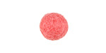 Pink Grapefruit Felt Round 15mm