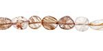 Copper Rutilated Quartz Tumbled Nugget 7-11mm